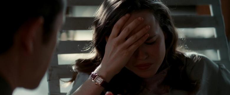Cartier Tank Women's Wrist Watch Worn by Ellen Page as Ariadne in Inception (2010)