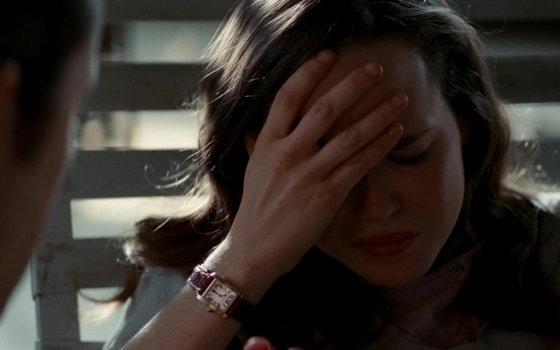 Cartier Tank Women's Wrist Watch Worn by Ellen Page as Ariadne in Inception (2010)