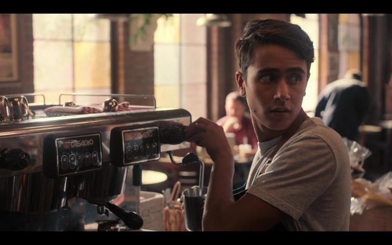 Casadio Espresso Coffee Machine in Love, Victor S01E04 TV Show (4)