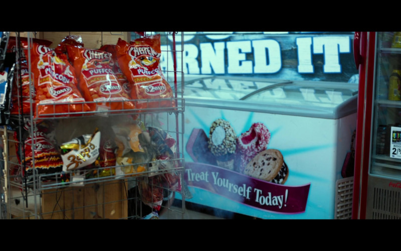 Chester's Puffcorn Snacks and Zapp's Chips in Infamous (2020)