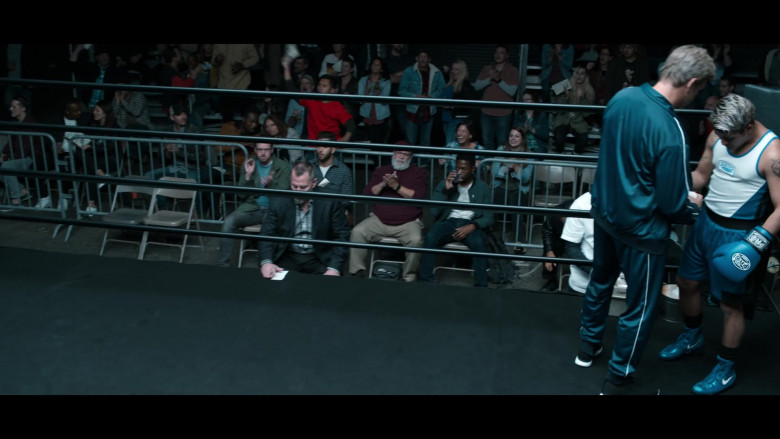 Christian Navarro as Tony Padilla Wearing Nike Boxing Blue Shoes in 13 Reasons Why S04E05 TV Show