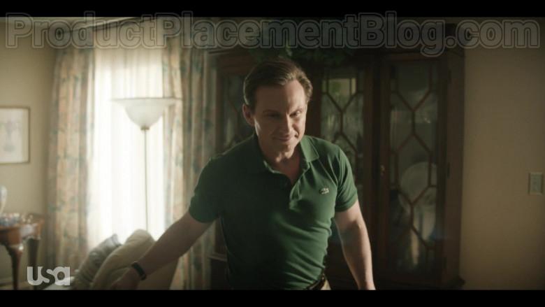 Christian Slater as Dan Broderick Wearing Lacoste Green Polo Shirt in Dirty John S02E01 TV Show