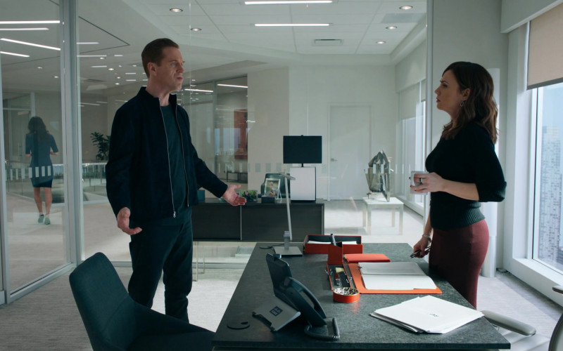 Cisco Video Phone Used by Maggie Siff as Wendy Rhoades in Billions S05E06 (1)