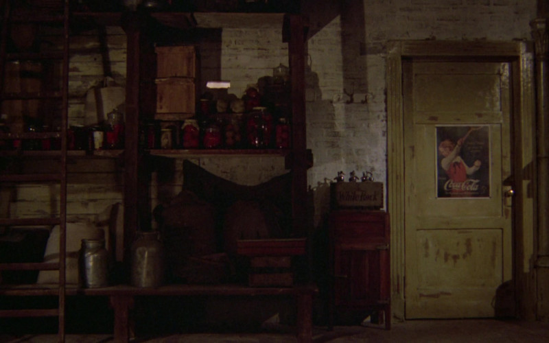 Coca-Cola Poster in Once Upon a Time in America (1984)
