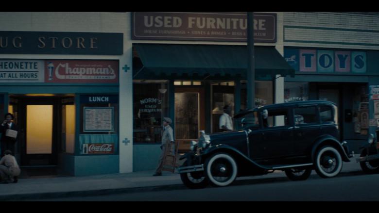 Coca-Cola Vintage Sign in Perry Mason Season 1 Episode 2 TV Show