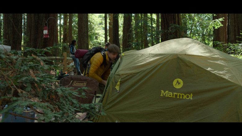 Coleman and Marmot Tent in 13 Reasons Why S04E04 Senior Camping Trip (2020)