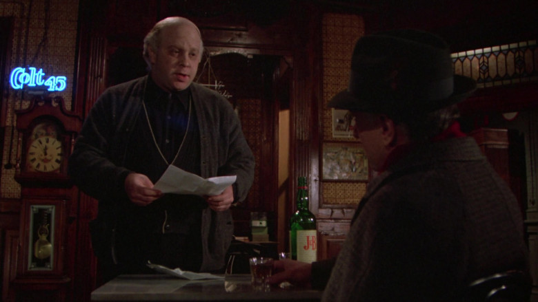 Colt 45 Blue Neon Sign in Once Upon a Time in America (1)