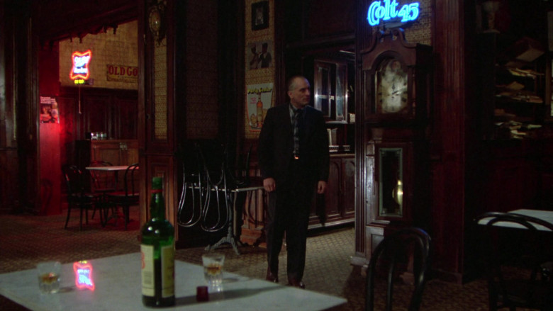 Colt 45 Blue Neon Sign in Once Upon a Time in America (2)