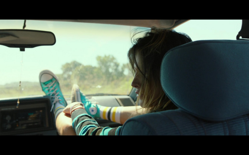 Converse Chuck Taylor All Star Green Hi Sneaker Worn by Bella Thorne in Infamous (2)