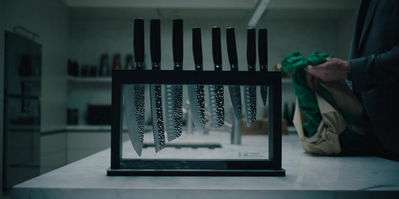 Cuisinepro Damashiro Japanese Knives in Alex Rider S01E06 (2020)