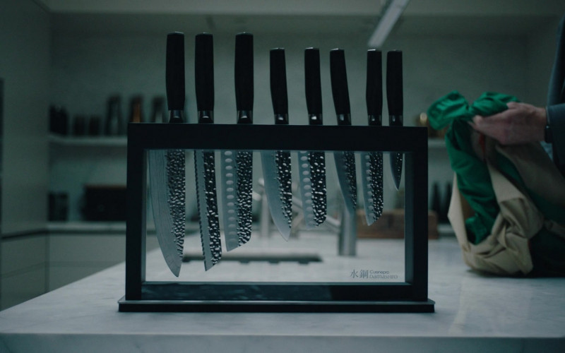 Cuisinepro Damashiro Japanese Knives in Alex Rider S01E06 (2020)