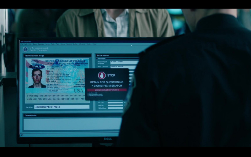 Dell Computer Monitor in Condor S02E01 Exile Is a Dream (2020)