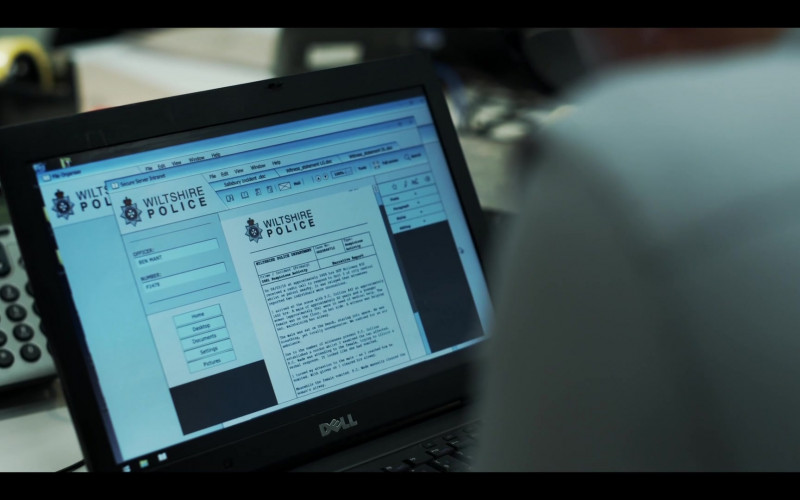 Dell Laptop in The Salisbury Poisonings Episode 1 (2020)