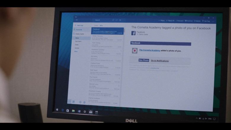 Dell Monitor and Facebook in Love Life S01E06 Magnus Lund Part II (2020)