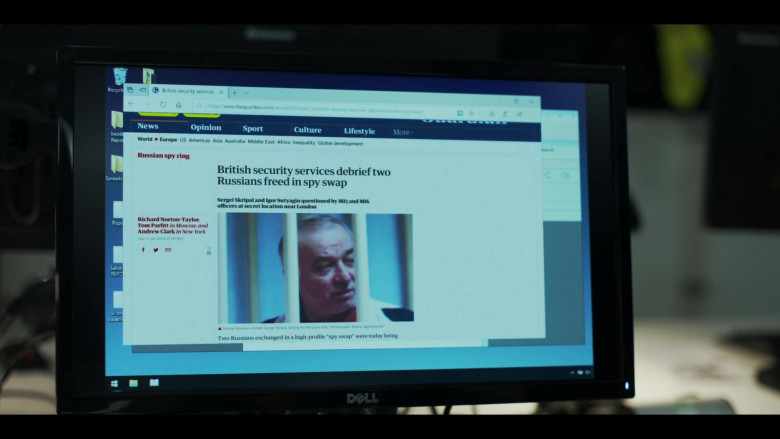 Dell Monitors in The Salisbury Poisonings Episode 1 (1)