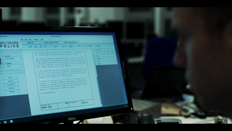 Dell Monitors in The Salisbury Poisonings Episode 1 (2)