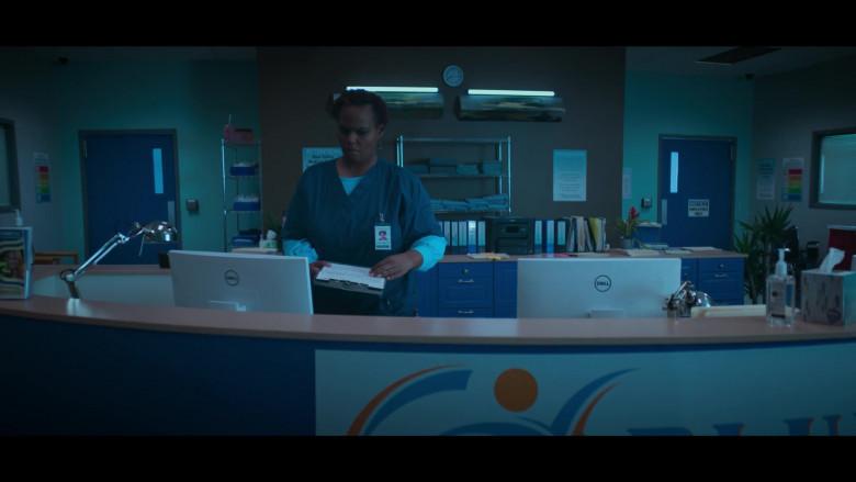 Dell White Computer Monitors in Stargirl Season 1 Episode 4 TV Show (1)