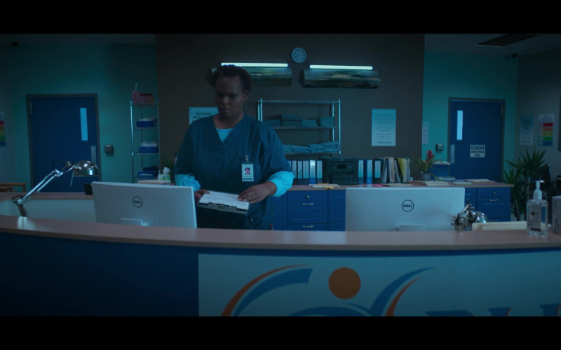 Dell White Computer Monitors in Stargirl Season 1 Episode 4 TV Show (1)