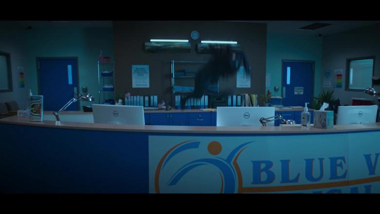 Dell White Computer Monitors in Stargirl Season 1 Episode 4 TV Show (2)