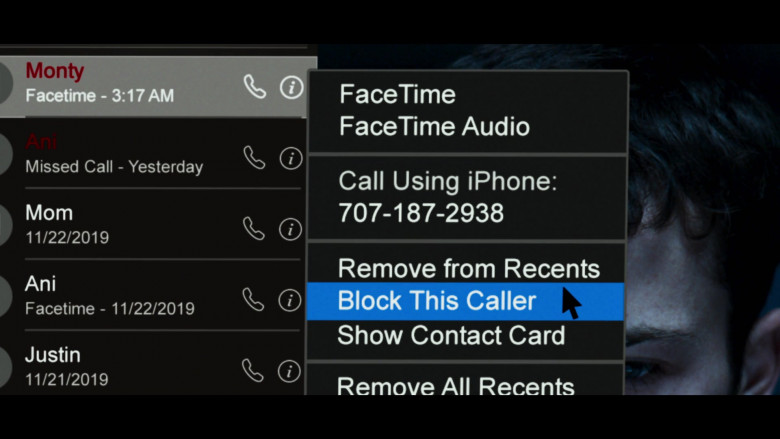 FaceTime App in 13 Reasons Why S04E02 College Tour (2)
