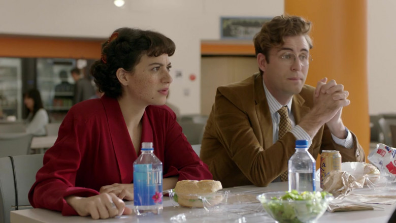 Fiji Water, LaCroix Sparkling Water and UTZ Snacks in Search Party S03E09 TV Series