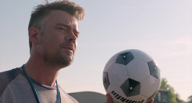 Franklin Sports Soccer Ball Held by Josh Duhamel as Lukas in Think Like a Dog Movie (3)