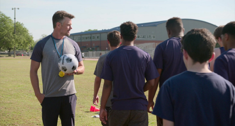 Franklin Sports Soccer Ball Held by Josh Duhamel as Lukas in Think Like a Dog Movie (4)
