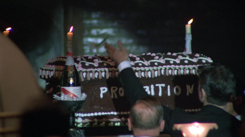 G.H. Mumm Vintage Champagne Bottles in Once Upon a Time in America Movie (1)