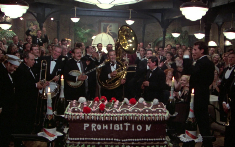 G.H. Mumm Vintage Champagne Bottles in Once Upon a Time in America Movie (7)