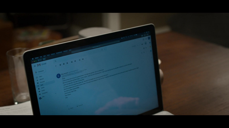 Gmail Email in 13 Reasons Why S04E04 Senior Camping Trip (2020)