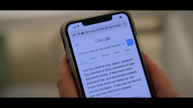Google Search Website in The Politician Season 2 Episode 6