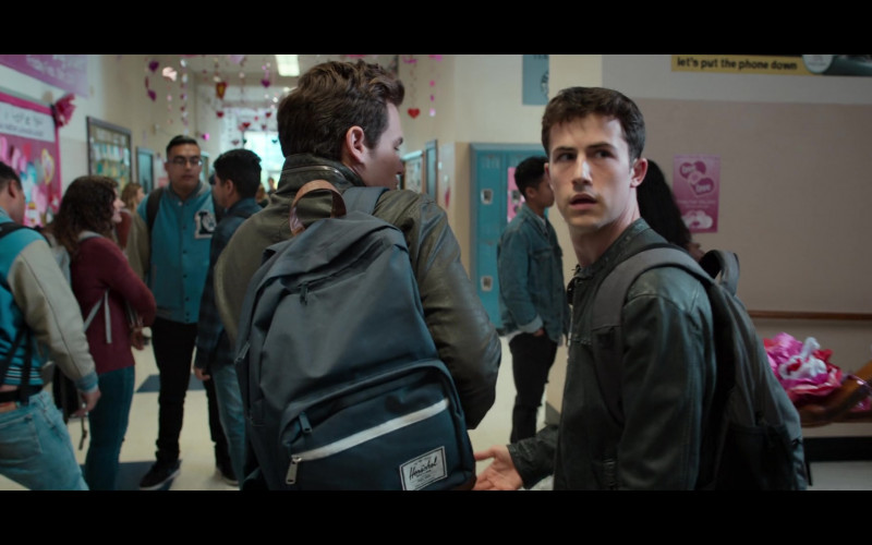 Herschel Backpack in 13 Reasons Why S04E03 Valentine's Day (2020)