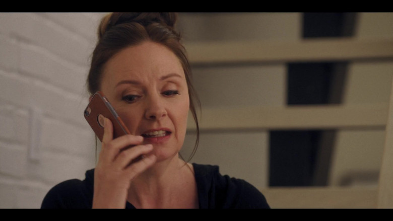 Hope Davis Using Apple iPhone Smartphone in Love Life S01E07 HBO Max TV Show (1)