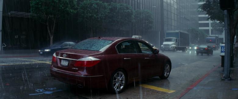 Hyundai Genesis Car in Inception Movie (1)