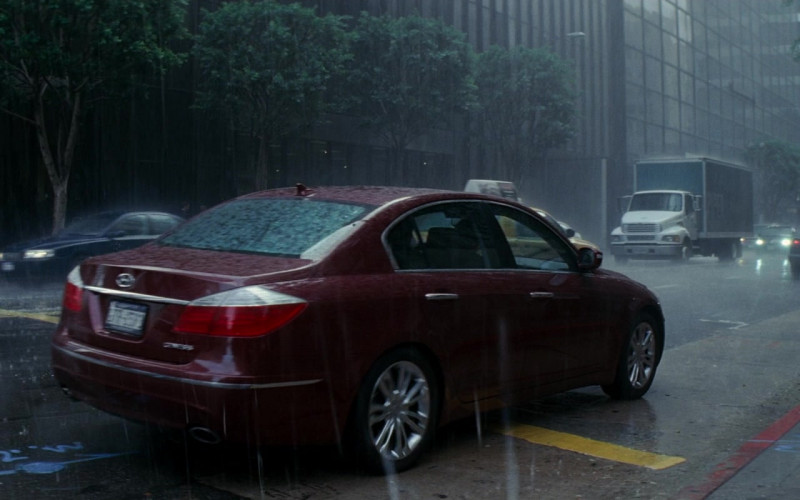 Hyundai Genesis Car in Inception Movie (1)