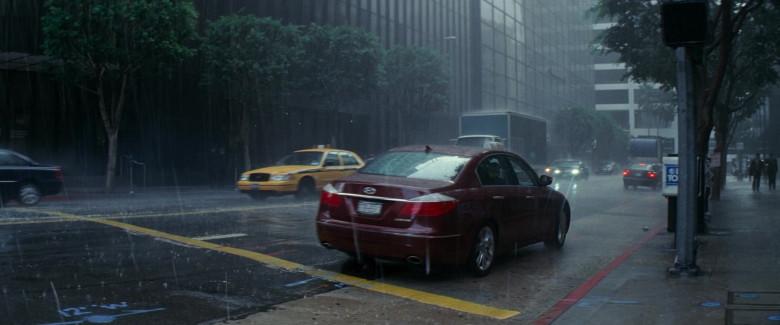 Hyundai Genesis Car in Inception Movie (2)