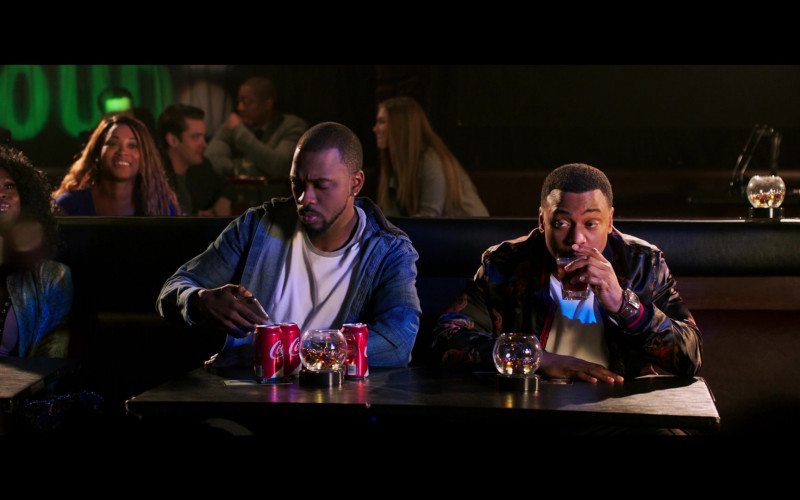 Jay Pharoah Drinking Coca-Cola Soda in 2 Minutes of Fame Movie (1)