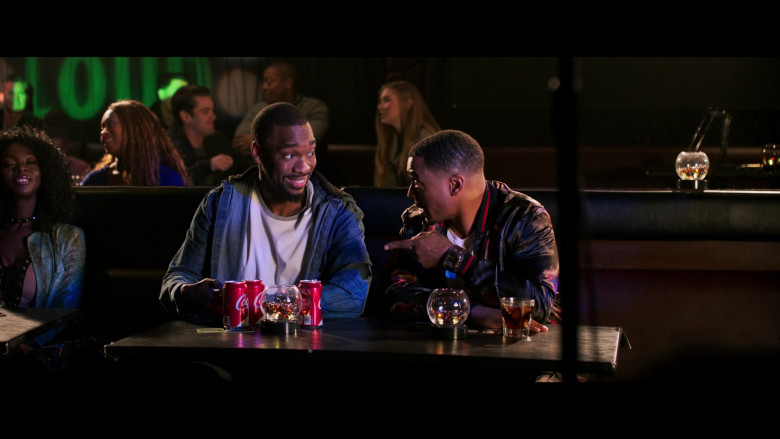 Jay Pharoah Drinking Coca-Cola Soda in 2 Minutes of Fame Movie (2)
