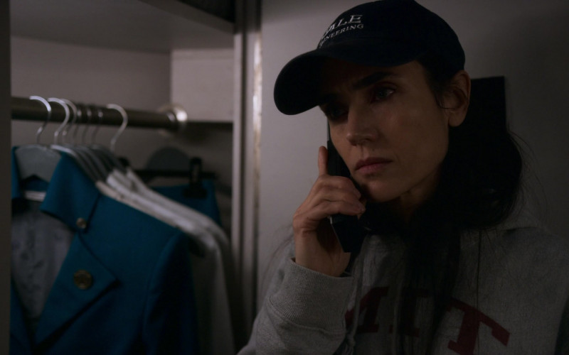 Jennifer Connelly as Melanie Cavill Wearing MIT Hoodie in Snowpiercer S01E04 TV Show