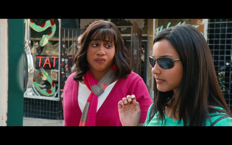 Jessica Lucas Wears Dillon Optics Women's Sunglasses in Big Mommas Like Father, Like Son (2011) Movie
