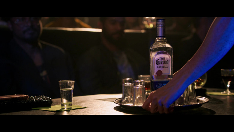 Jose Cuervo Especial Tequila Bottle in 2 Minutes of Fame (2020) Hollywood Comedy Film