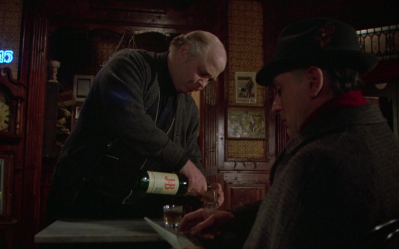 Justerini & Brooks (J&B) Scotch Whisky in Once Upon a Time in America Movie (1)