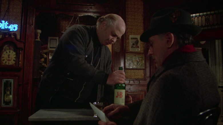 Justerini & Brooks (J&B) Scotch Whisky in Once Upon a Time in America Movie (2)