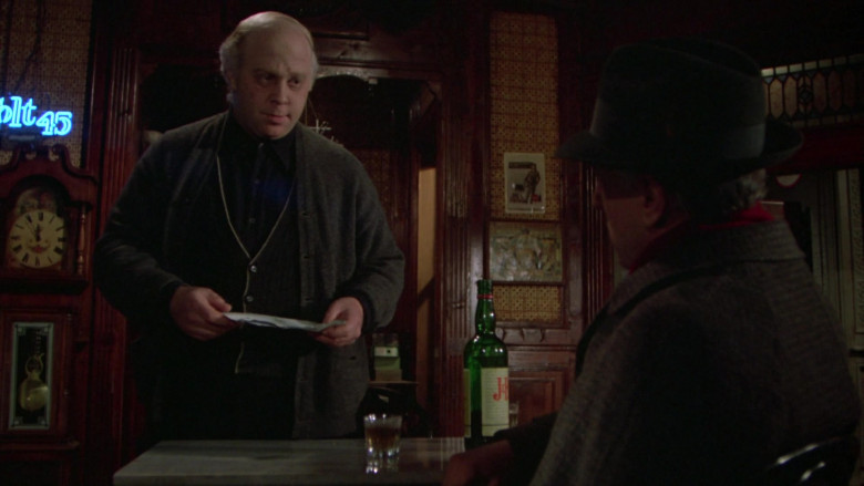 Justerini & Brooks (J&B) Scotch Whisky in Once Upon a Time in America Movie (3)