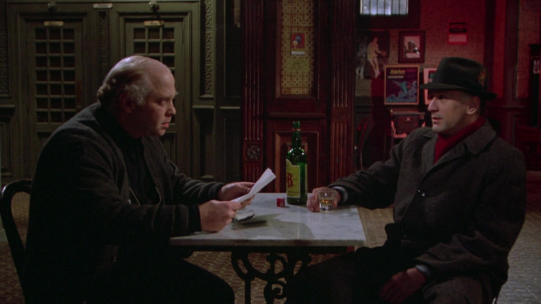 Justerini & Brooks (J&B) Scotch Whisky in Once Upon a Time in America Movie (4)