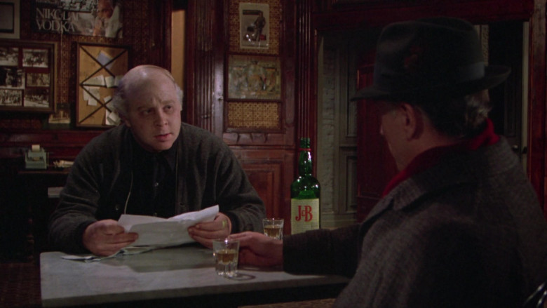 Justerini & Brooks (J&B) Scotch Whisky in Once Upon a Time in America Movie (5)