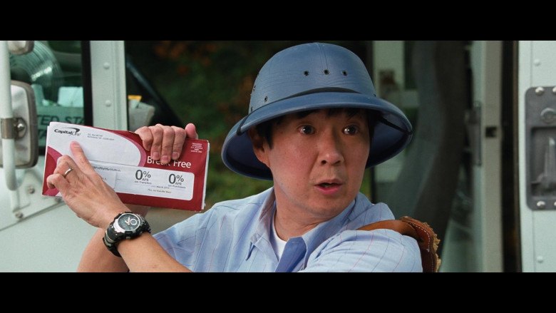 Ken Jeong as Mailman Holding Capital One Envelope in Big Mommas Like Father, Like Son Movie (1)