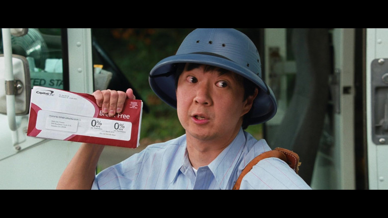 Ken Jeong as Mailman Holding Capital One Envelope in Big Mommas Like Father, Like Son Movie (2)