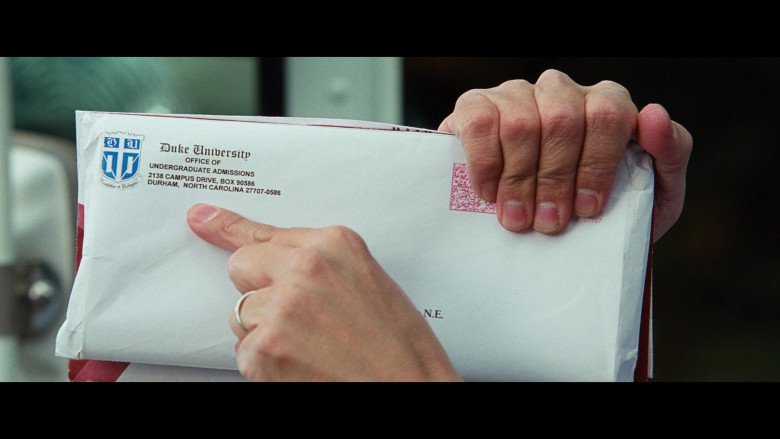 Ken Jeong as Mailman Holding Duke University Envelope in Big Mommas Like Father, Like Son Comedy Film (1)