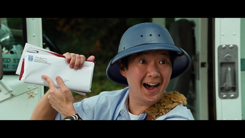 Ken Jeong as Mailman Holding Duke University Envelope in Big Mommas Like Father, Like Son Comedy Film (2)